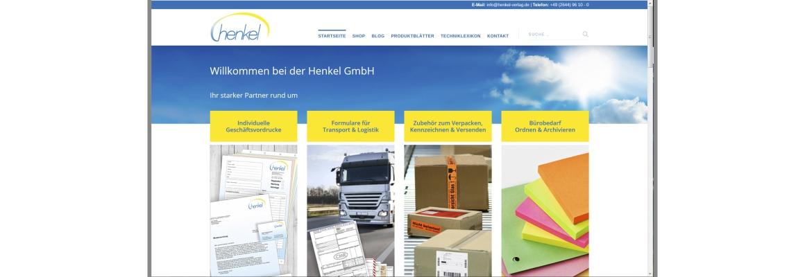 Dies ist die neue Website der Henkel GmbH.